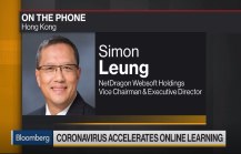 Bloomberg interview with Dr. Simon Leung, Vice Chairman of NetDragon: How coronavirus accelerates online learning