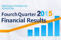 NetDragon Announces Fourth Quarter and Fiscal Year 2015 Financial Results